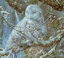 Winter Refuge by JamesBrowneArt