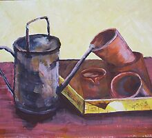 Watering Can by Estelle O'Brien