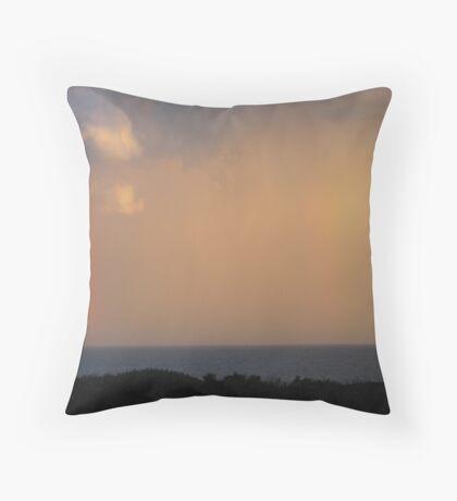 Rainbow Cloud Throw Pillow