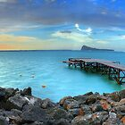 Mauritius Jetty Sunset by Kirk  Hille