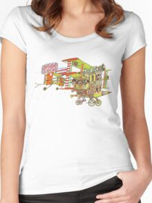 Jefferson Airplane - After Bathing at Baxter's Women's Fitted Scoop T-Shirt