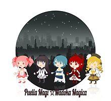 Madoka Magica - Starlit Night by Aiysle
