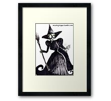 The Wicked Witch of the West Framed Print