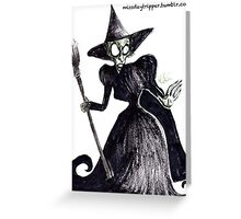 The Wicked Witch of the West Greeting Card
