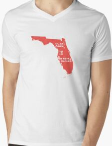 Made in Florida Mens V-Neck T-Shirt