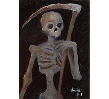 Death - The Grim Reaper Photographic Print