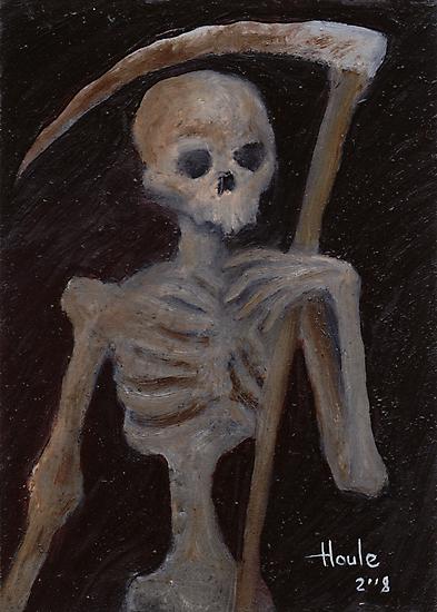 Death - The Grim Reaper by John Houle