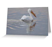Pelican Haircut Greeting Card