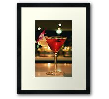 My Cocktail Framed Print