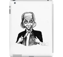 1st Doctor iPad Case/Skin