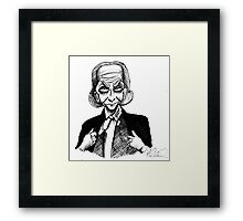 1st Doctor Framed Print