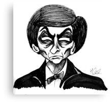 2nd Doctor Canvas Print
