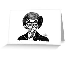 2nd Doctor Greeting Card