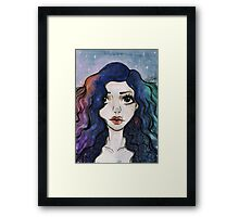 """Hev's Art ~ Marina and the Diamonds """"Froot""""  Framed Print"""