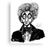 3rd Doctor Canvas Print