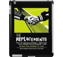 The Replacements Forest Hills show iPad Case/Skin