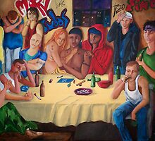 The Last Supper  by Dan Perez