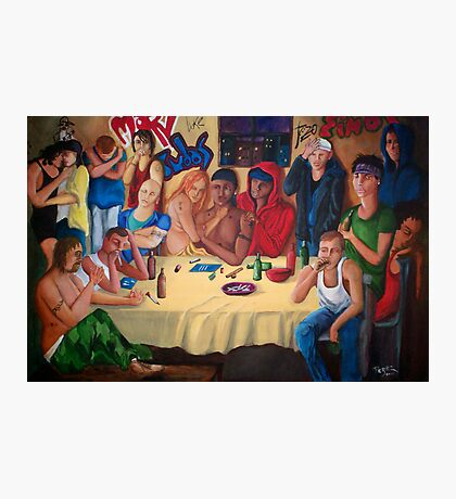 The Last Supper  Photographic Print