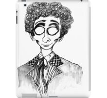 6th Doctor iPad Case/Skin