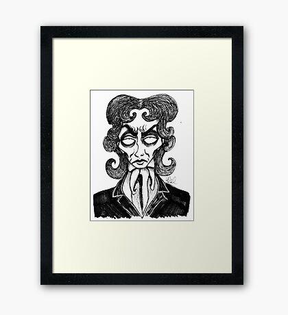 8th Doctor Framed Print