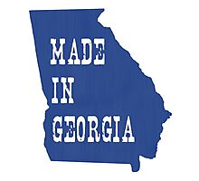 Made in Georgia Photographic Print