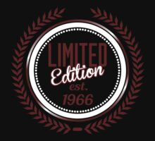 Limited Edition est.1966 by seazerka