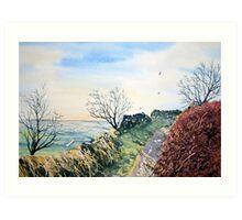 Sutton Bank Art Print