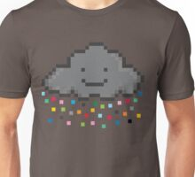 Your Friendly Pixel Cloud Sprinkling pixels for you and me Unisex T-Shirt