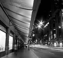 Downtown George Street Sydney B&W by MiImages