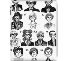 All of the Doctors iPad Case/Skin