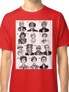 All of the Doctors Classic T-Shirt