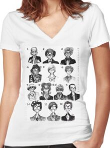 All of the Doctors Women's Fitted V-Neck T-Shirt