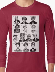 All of the Doctors Long Sleeve T-Shirt