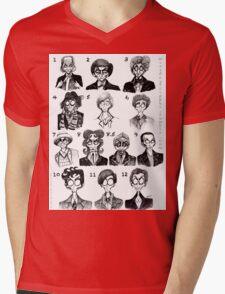 All of the Doctors Mens V-Neck T-Shirt