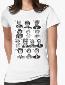 All of the Doctors Womens Fitted T-Shirt