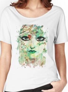 Spring girl face Women's Relaxed Fit T-Shirt