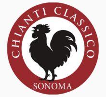 Black Rooster Sonoma Chianti Classico  Baby Tee