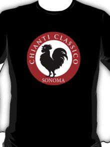 Black Rooster Sonoma Chianti Classico  T-Shirt