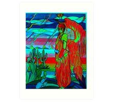 Grass Dancer Art Print