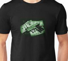 Guns and Money Unisex T-Shirt