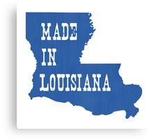 Made in Louisiana Canvas Print