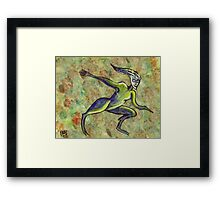 Puck the trickster spirit  Framed Print