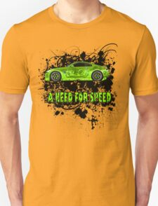 A NEED FOR SPEED(GREEN) T-Shirt