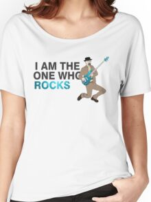 I Am The One Who Rocks  -Breaking Bad Women's Relaxed Fit T-Shirt