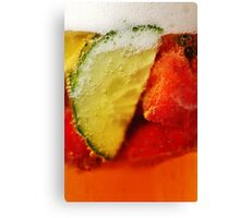 Time for More Pimms Canvas Print