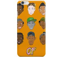 Odd Future Heads iPhone Case/Skin