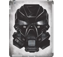Black Metal Future Fighter on distressed background iPad Case/Skin
