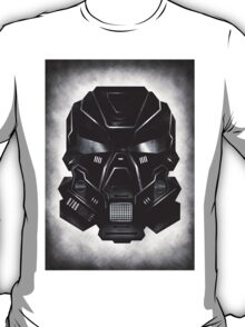 Black Metal Future Fighter on distressed background T-Shirt