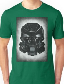 Black Metal Future Fighter on distressed background Unisex T-Shirt