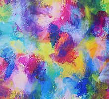 """""""In a Dream No.4"""" original abstract artwork by Laura Tozer by Laura Tozer"""